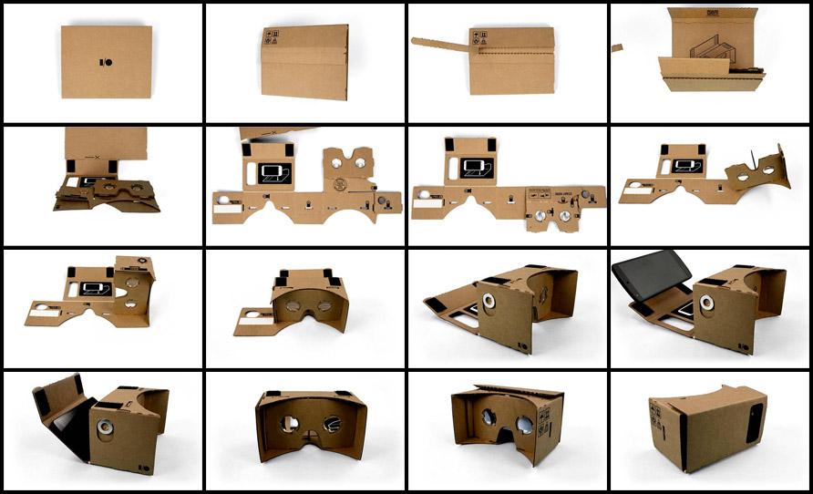 Podéis acceder al diseño de las Google Cardboard aquí, pero es una guía tan  exhaustiva que puede resultar confusa. Así que para facilitar la tarea,