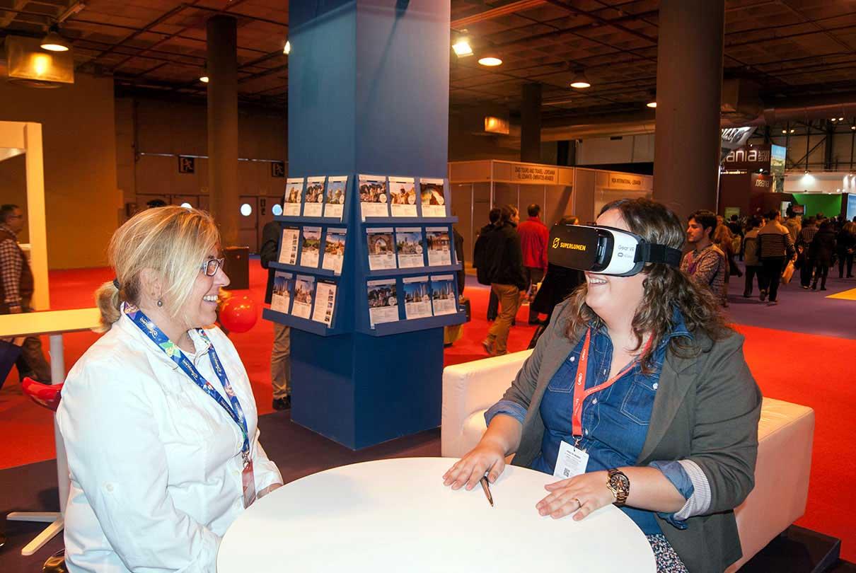 Realidad Virtual e innovación en Fitur 2016