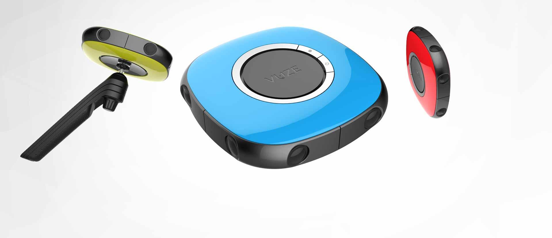 Vídeo 360 estereoscópico más accesible con la Vuze 3D