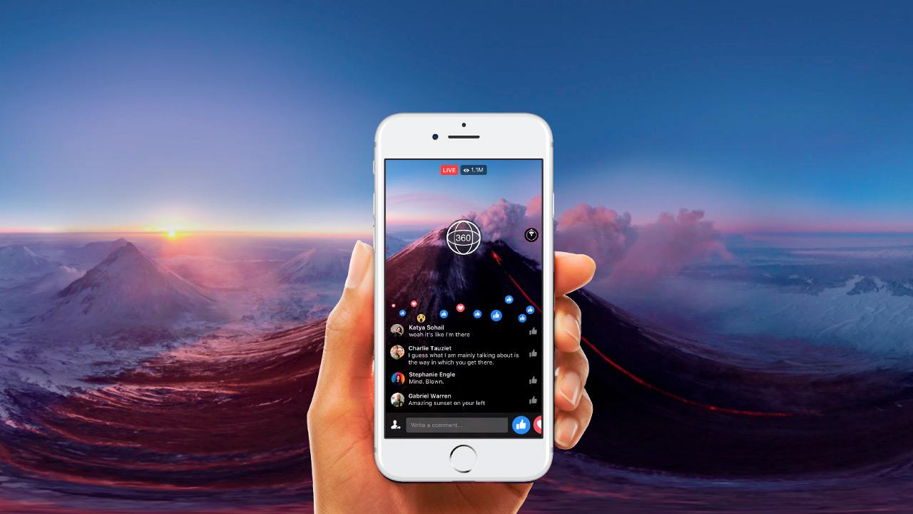 Facebook Live 360: Facebook añade vídeos 360 en directo