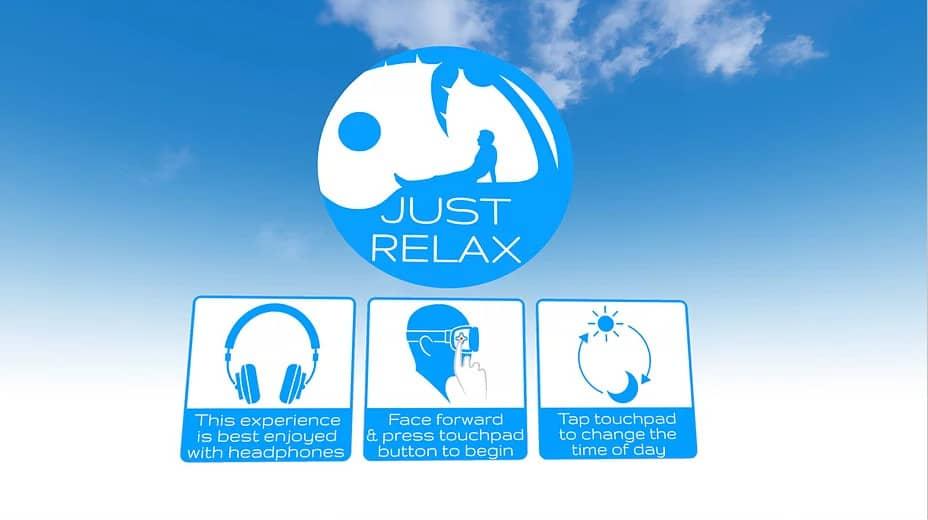New Oculus App Just Relax