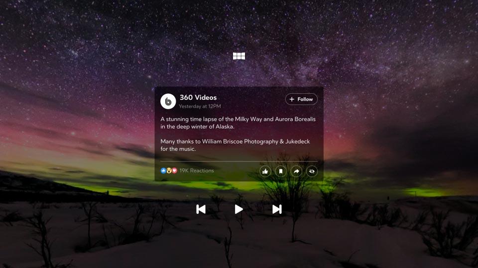 Facebook 360: La nueva app para Samsung Gear VR