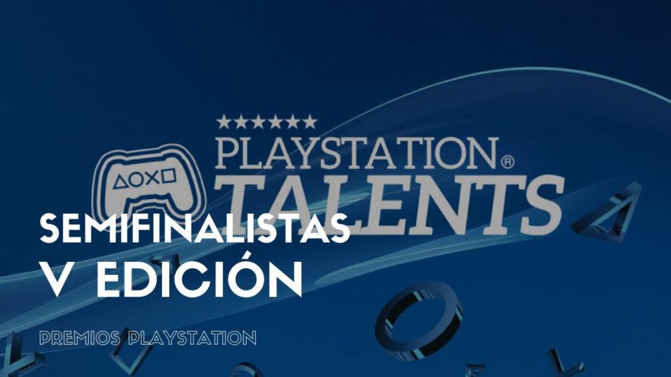¡Somos semifinalistas de la V Edición de los Premios PlayStation!