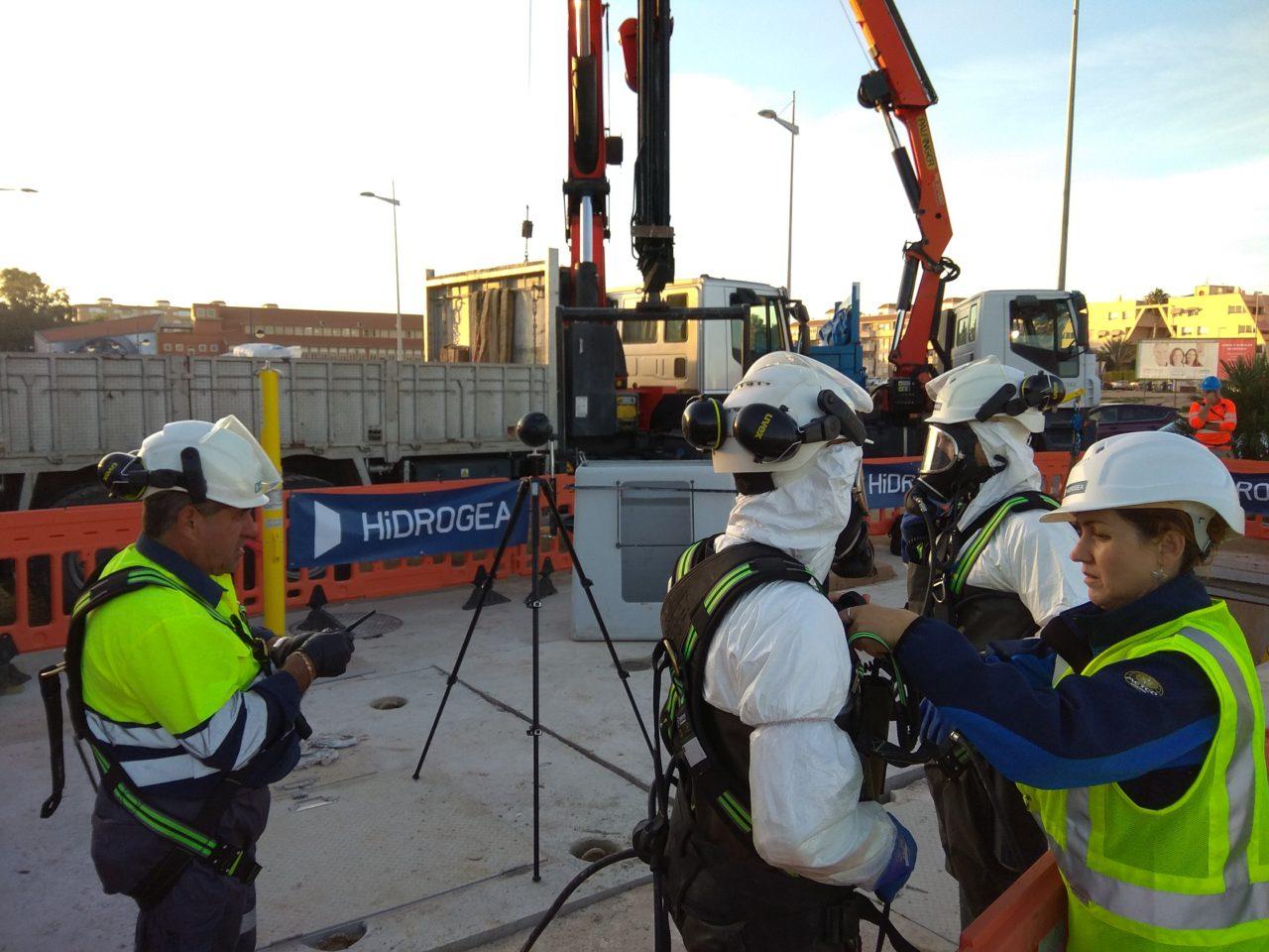Gate repair in Sewage Pumping Station