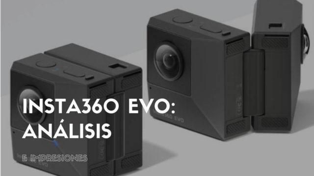 Insta360 EVO: ANÁLISIS E IMPRESIONES