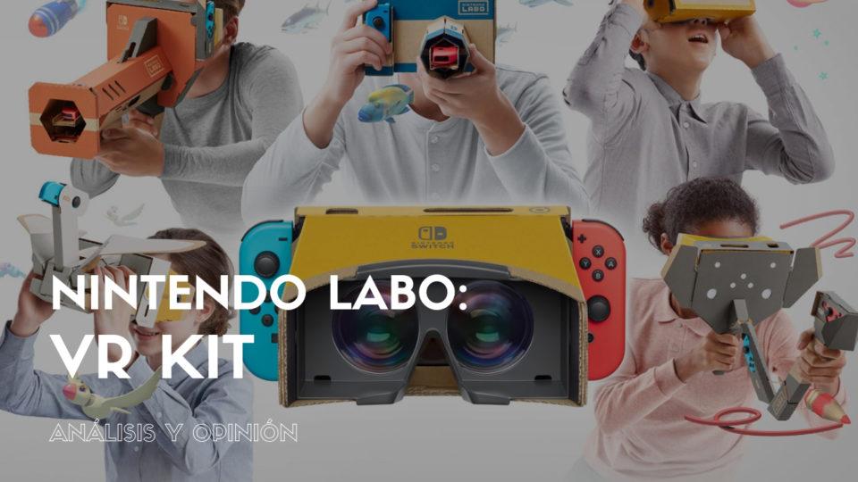 Todo lo que necesitas saber sobre Nintendo Labo: VR Kit