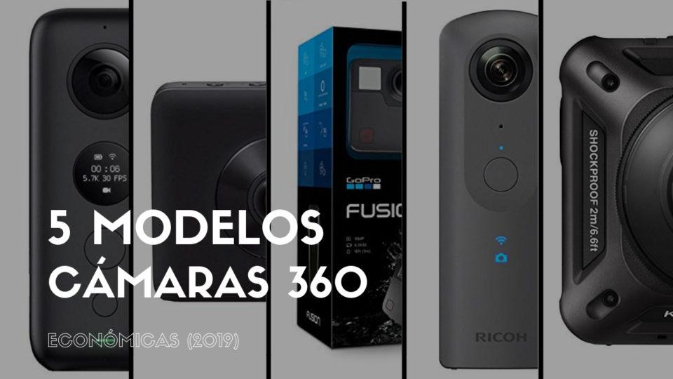 5 modelos de cámaras 360 económicas (2019)