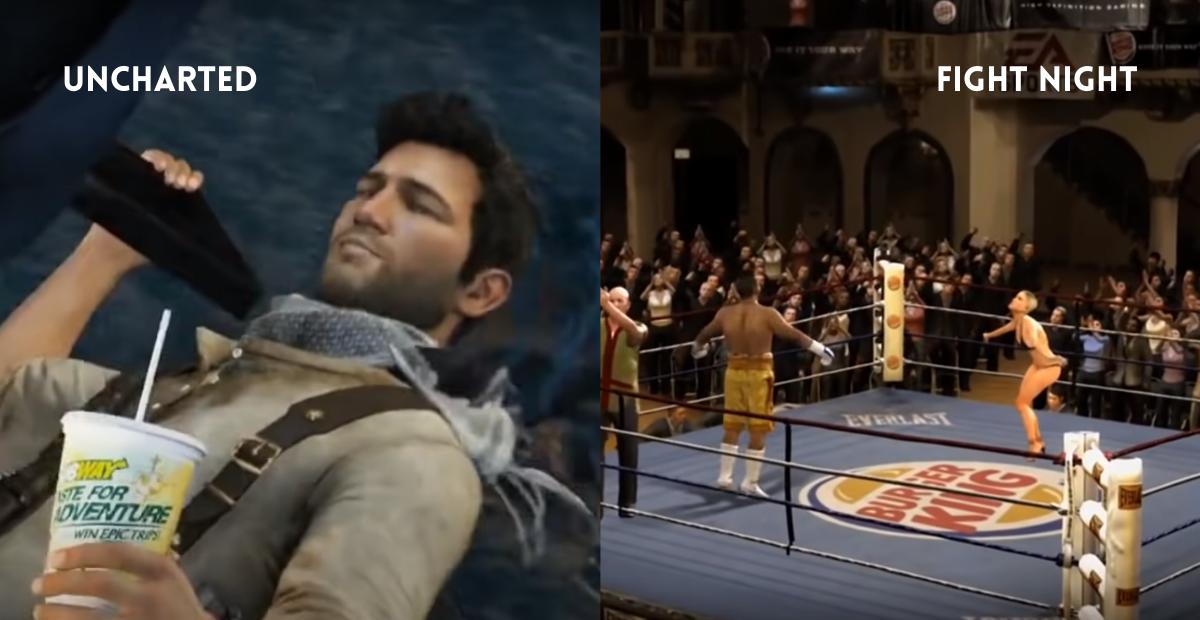 Publicidad estática y dinámica en videojuegos